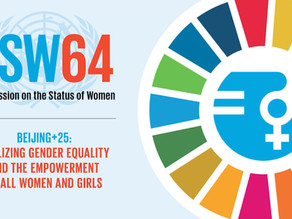 CSW64 Beijing +25, Covid-19 and the Soroptimist Sisters