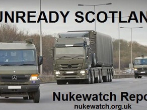 Nukewatch Warns of Nuclear Weapons Convoys Threat