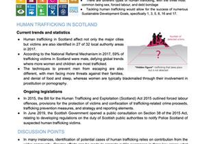 Human Trafficking Briefing Paper