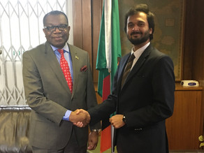 UNHS Presentation on Aid Effectiveness submitted to Zambian High Commissioner to the UK