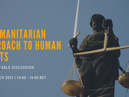 Human Rights team Roundtable Discussion on Humanitarian Approaches to Human Rights