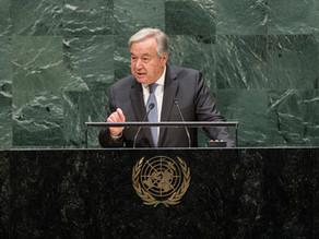 COVID-19: Secretary-General Calls for Global Ceasefire