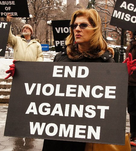 Protest to end the Violence towards Women