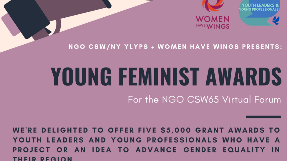 NGO CSW65 Young Feminist $5,000 Awards