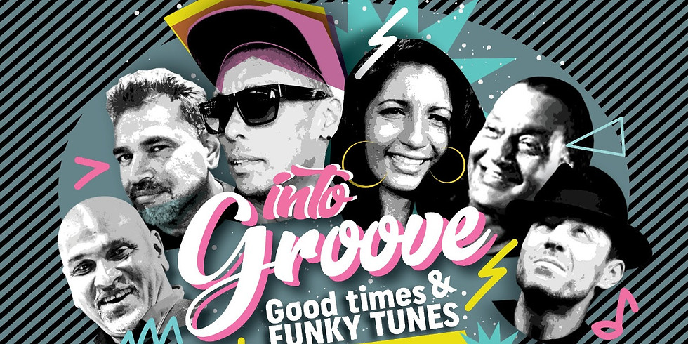 into groove Live at Eddies Band Room