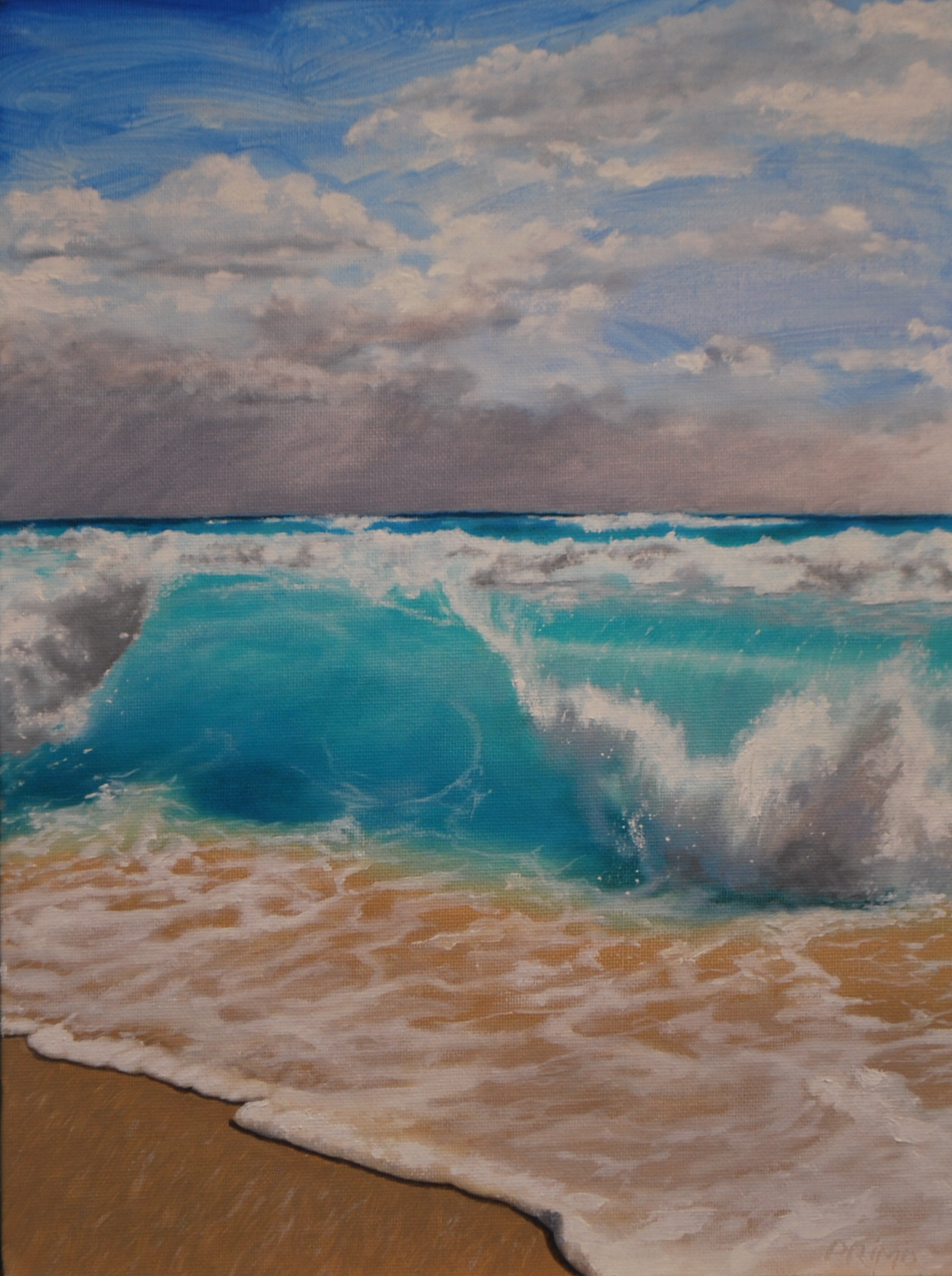 Turquoise Wave study