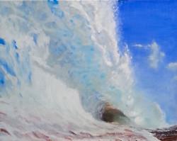 Sand Blaster, oil on canvas