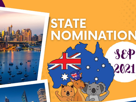Update: Nomination from States and Territories