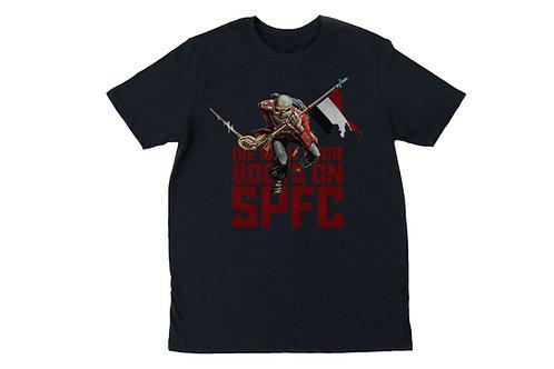Camiseta Eddie Tricolor - Preto
