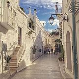 Italy Monopoli - puglia white streets.jp