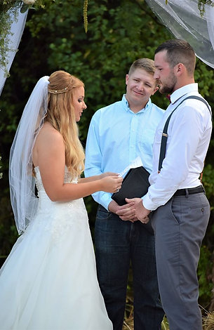 Jeremy Officiating Your Wedding