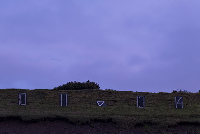 The Curragh military camp, December 2019
