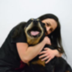 This is Monika and her Rottweiler Roxy!