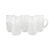 Waterford beer mug set