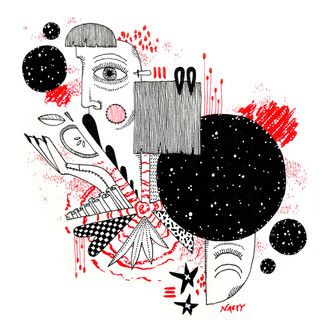 Patchwork Universe // Natalie Vukic — Illustration