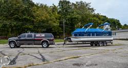 boat transportation pickup