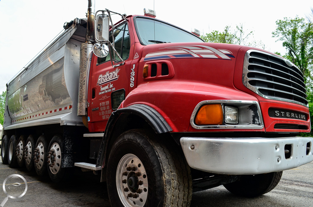 dump truck detail