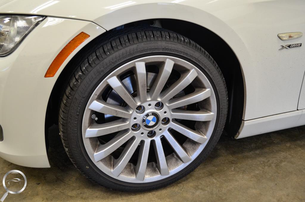 Express detail dirty wheel