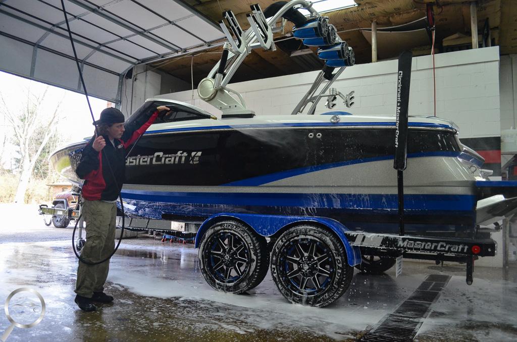 boat pressure wash
