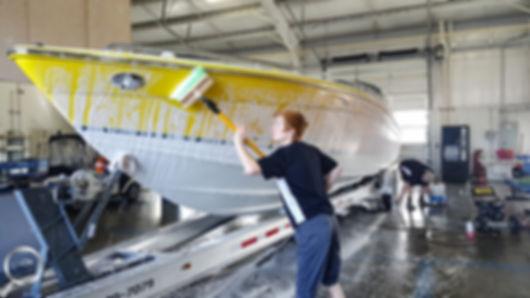 mobile boat washing