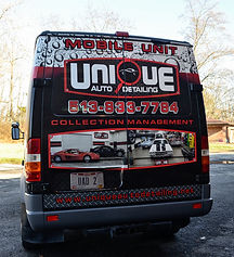 mobile detailing van