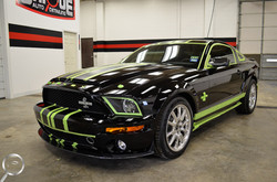 mustang gt500 paint correction