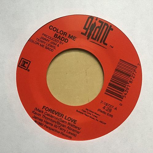 Color Me Badd, Forever Love (Radio Edit/Album Vers.) 45 1992 VG+ Giant
