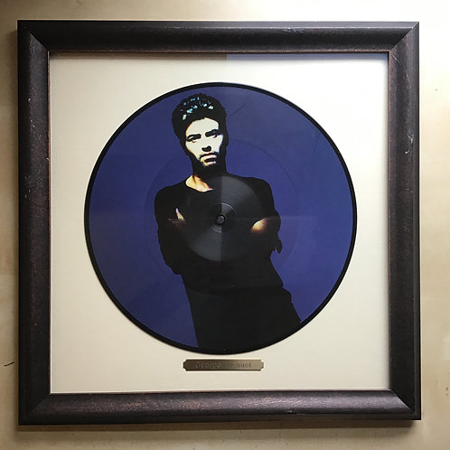 George Michael Freedom '90 2015 25th Anniversary Picture Disc Framed