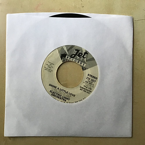 Electric Light Orchestra-Shine A Little Love-Tested Vinyl 45 Promo Mono/Stereo