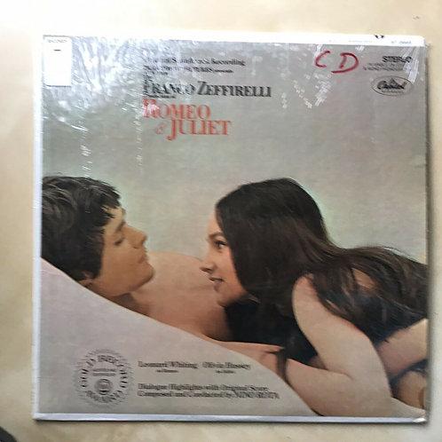 Romeo & Juliet (Franco Zeffirelli Film) SOUNDTRACK Capitol SHRINK VG++/E ST-2993
