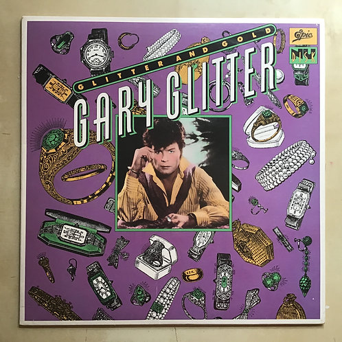"GARY GLITTER Glitter And Gold 10"" EP Epic ""Nu Disk"" 1980 GLAM ROCK Promo Stamp"