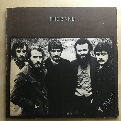 The Band - S/T 1973 Red Labels US REISSUE LP