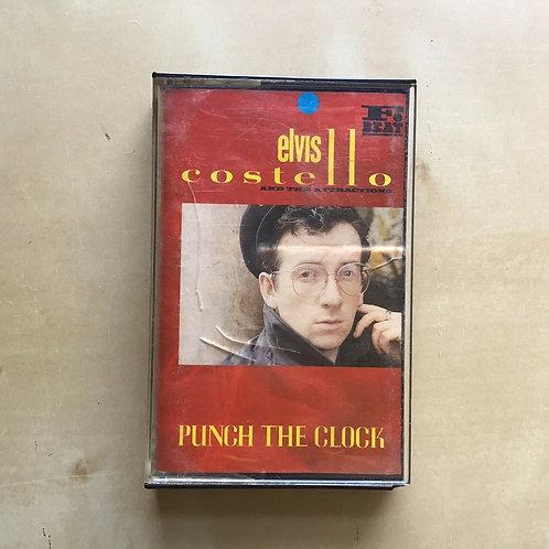 ELVIS COSTELLO - Punch The Clock / Cassette Album Tape /1983 UK F Beat