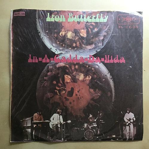 1968 IRON BUTTERFLY In-A-Gadda-Da-Vida Taiwan First Record FL-1638