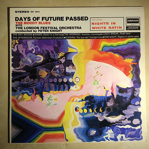 The Moody Blues-Days Of Future Past LP-Deram DES 18012 - 1969 - EX Bestway
