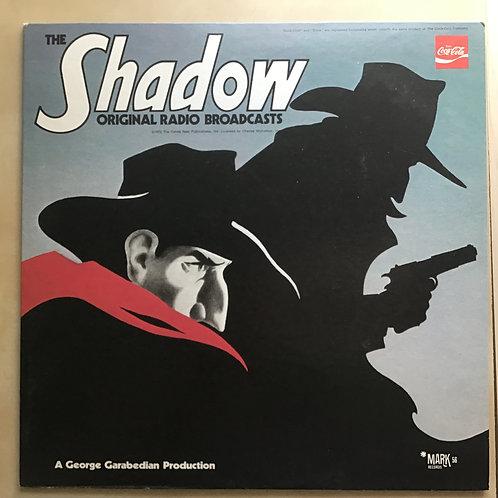 The Shadow Original Radio Broadcasts Mark 56 Records Vinyl LP 1972 Coca Cola NM