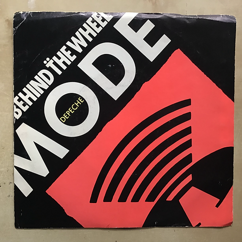 """Depeche Mode """"Behind The Wheel/Route 66/Behind the Wheel"""" 45"""