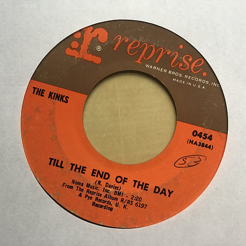 "THE KINKS Till The End Of The Day 45 7"" CLASSIC ROCK Record Vinyl 1965"