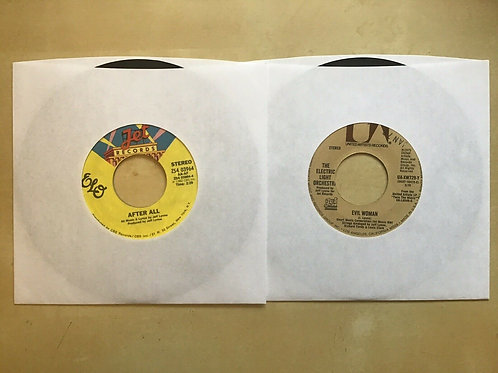 ELECTRIC LIGHT ORCHESTRA EVIL WOMAN/10538 OVERTURE 45 + After All 45