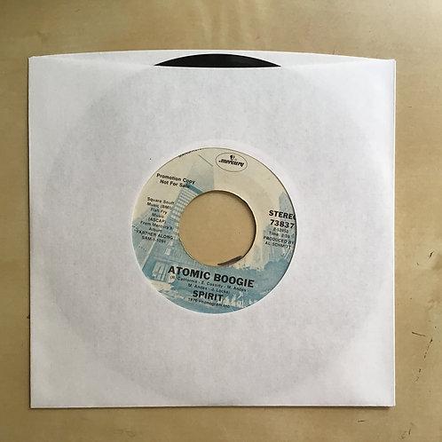 1976 Spirit Farther Along / Atomic Boogie Promo 45 73837 45