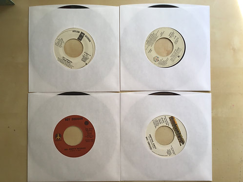 LOT OF 4 ROY ORBISON 45s~OH PRETTY WOMAN + 3 Promos EX