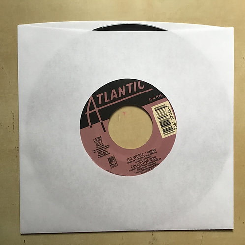 """COLLECTIVE SOUL """"THE WORLD I KNOW"""" 45 RPM"""