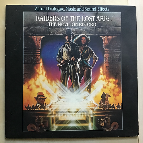 Raiders of the Lost Ark: The Movie on Record LP