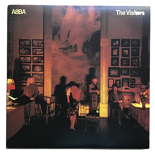 ABBA ‎- The Visitors - Original 1981 Vinyl LP Record Album - Excellent