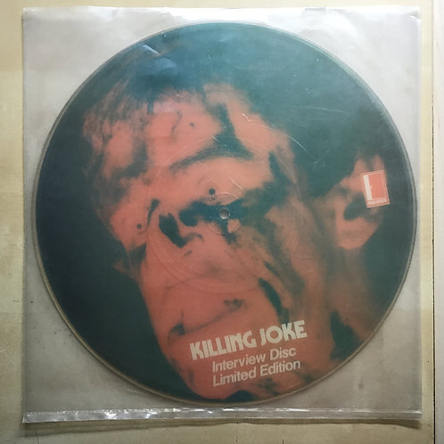 Killing Joke Interview Picture Disc RDPD-12 1985 UK Limited Edition Numbered 033