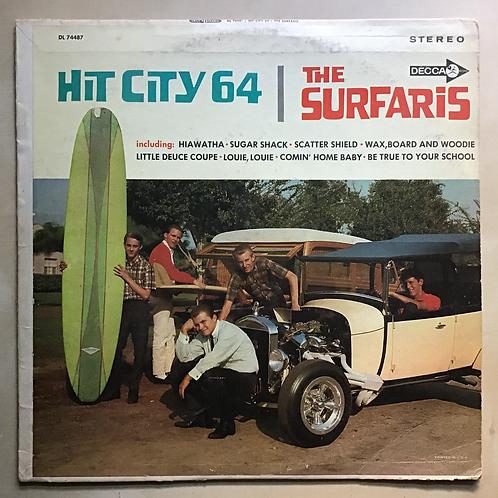 """The Surfaris """"Hit City 64"""" 1964 1st US LP"""