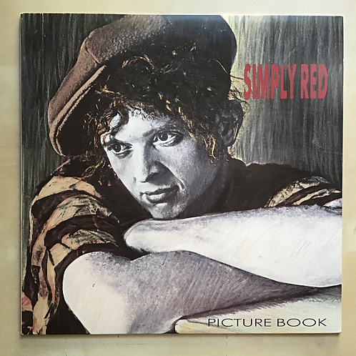"""Simply Red """"Picture Book"""" US LP 1985"""