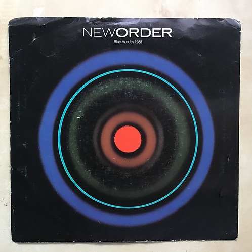 "New Order ""Blue Monday 1988/Touched By The Hand Of God"" Single"