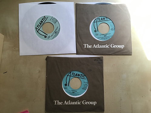 ABBA ~Winner Takes It All + Angeleyes+ When All Is Said And Done Promo Lot 45s