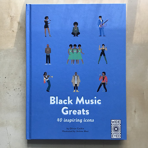 Black Music Greats 40 Inspiring Icons Hardcover Book
